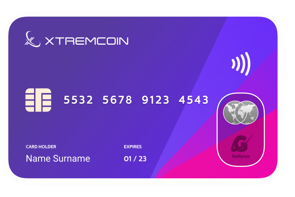 xtremcoin card